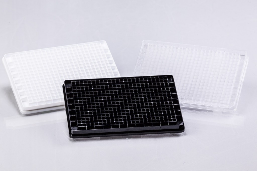 384-Well Microplate Group | Black | White | Transparent