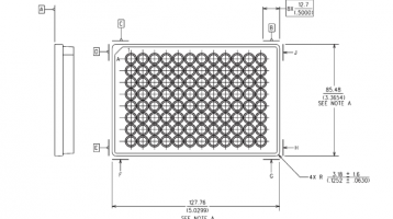 96-Well Microplate Footprint